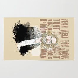 The Dude, The Big Lebowski quote  Rug