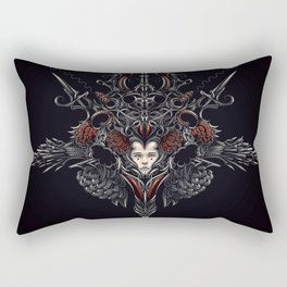 Strawberry flower Rectangular Pillow