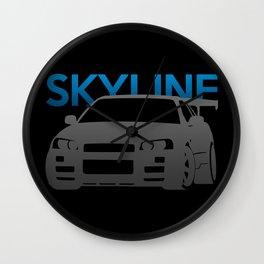 Nissan Skyline GT-R  Wall Clock