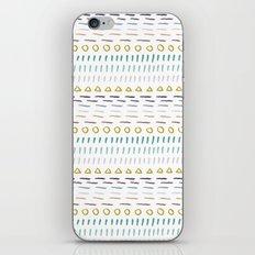 Line Dot Line Triangle iPhone & iPod Skin