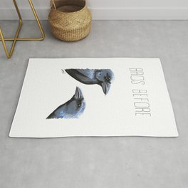 Bros Before Crows Rug