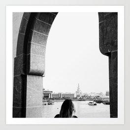 MIA Doha Days by Reay of Light Art Print
