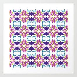 Luxury mandalas RAINBOW ed. Art Print