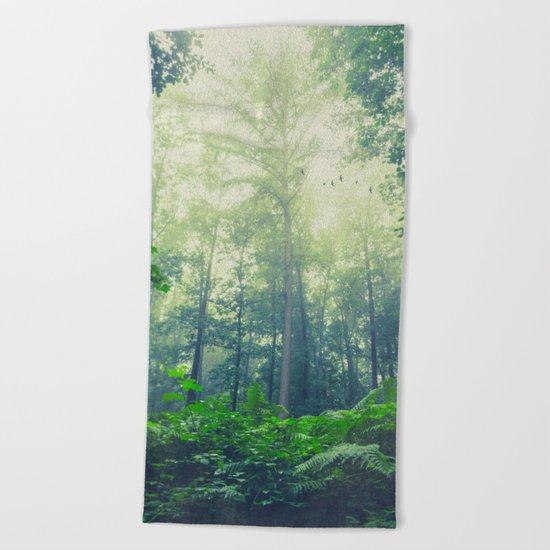 SummEr grEEn Beach Towel