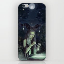 The Moon Witch iPhone Skin