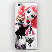 monster high iPhone & iPod Skins featuring Monster High  by Jessica Yakamna
