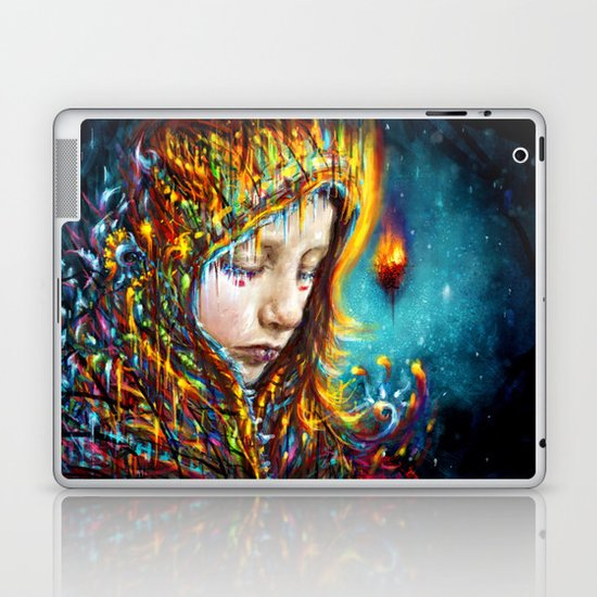 when it's cold outside Laptop & iPad Skin