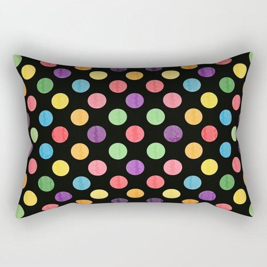 Lovely Dots Pattern Rectangular Pillow