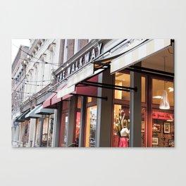 The Walkway Canvas Print