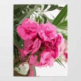 Summer oleander Poster