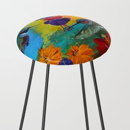 Hummingbirds Counter Stool