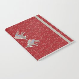 © Litte Burro Wild West Red Notebook