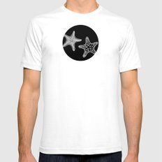 Starfish Mens Fitted Tee White SMALL