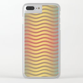 Psychedelic Pattern #2 Clear iPhone Case