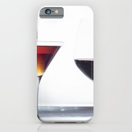 Silver Platter Libations iPhone Case