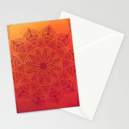 Sun Mandala Stationery Cards