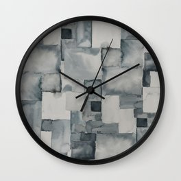 Pave Gray Wall Clock