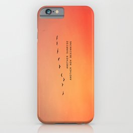 Another Sunrise Another New Beginning  iPhone Case