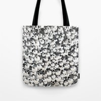 mirror Tote Bags featuring Mirror by Judith Abbott