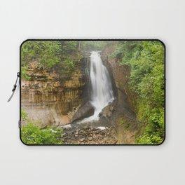 Miners Falls - Pictured Rocks Waterfall, Michigan Laptop Sleeve