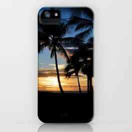 Hawaii Sunset Photo iPhone Case