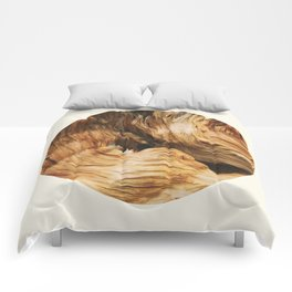 Abstract Wood Design Comforters