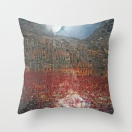 Arabian Night Throw Pillow