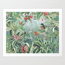 Tropical Paradise V Art Print
