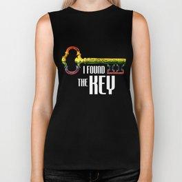 Couple Matching T-Shirt Found The Key Pride LGBT Shirts Biker Tank