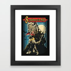 Symphony of the night Framed Art Print