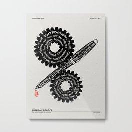 LEGISLAYTURE Metal Print