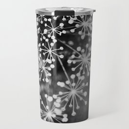 Dill In Black and White Travel Mug