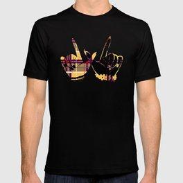 Whatever Plaid T-shirt