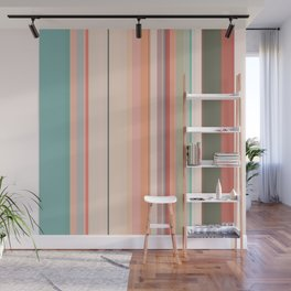 Stripe Pattern XI Wall Mural