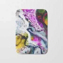 Abstract Melt V Bath Mat