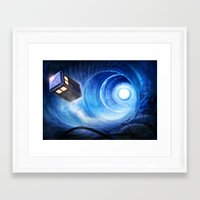 doctor who Framed Art Prints featuring Doctor Who by Joe Roberts