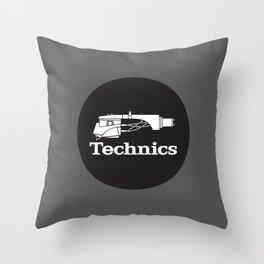 Technics SL-1210 - Deejay / Music Throw Pillow