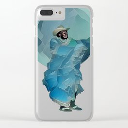 Portrait of a Currulao Dancer Clear iPhone Case