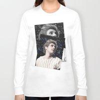niall Long Sleeve T-shirts featuring Niall OTRA by Clara J Aira