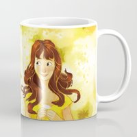 pushing daisies Mugs featuring Pushing Daisies by AngHuiQing