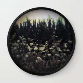 Queen Anne's Lace, Indiana Wall Clock