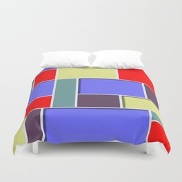 Abstract #65 Duvet Cover