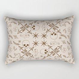 Where Are You Heading? Rectangular Pillow