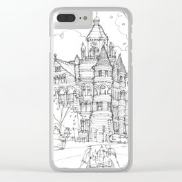 Red Museum Dallas! Clear iPhone Case
