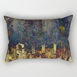 CITY LIFE AMBIGRAM Rectangular Pillow