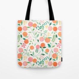 Vanilla Peaches Tote Bag
