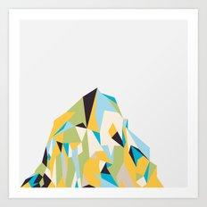 Mount Pios Left Art Print