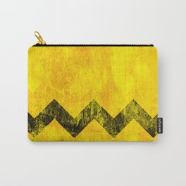 Distressed Charlie Brown Carry-All Pouch