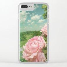 Boho Vibe Clear iPhone Case
