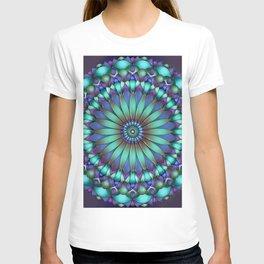 Floral Emblem T-shirt